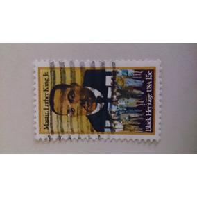 Selos Raros - Filatelia - Martin Luther King Jr