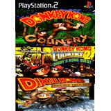 Donkey Kong Trilogy Coleção 3 Em 1 Patch Ps2 + Frete Grátis