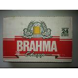 Caixa Antiga Brahma Chopp - 1994 Zerada