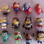 Recuerdos De Minions Avengers En Masa Flexible