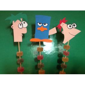 Souvenirs Phineas Y Ferb Con Gomitas