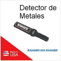 Ranger1000 Ranger Detector De Armas Y Metales Portatil