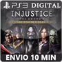 Injustice Gods Among Us Totalmente Em Português Psn Ps3