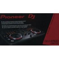 Pioneer Dj Ergo Controladora Ddj-ergo/k/xj25