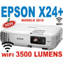 Proyector Epson X24 3500 Lum Hdmi Usb 1080p Wifi C/dongle