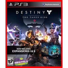 Dlc Destiny Taken King + Dark Below E Wolves Ps3 - Cod Psn