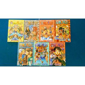 Livro One Piece Vol 30 Ao 36 - 7 Livros - Eiichiro - Novos