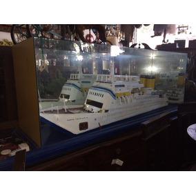 Antiguo Barco De Coleccion, Muy Decorativo ***