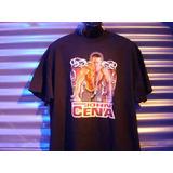 Polera M/corta Wwe Original John Cena Talla Xl