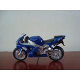 Mini Moto Yamaha R1 Yzf Na Escala 1/18