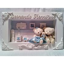 Cenário De Porta De Maternidade Com Ursinhos - Menino