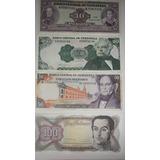 Billetes Antiguos De Venezuela Combo De 4 Unidades Año 1992