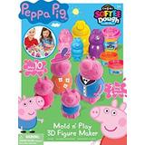 Juguete Cra-z-art Peppa Pig Softee Masa Figura Maker (ampli