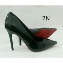 Sapato Scarpin Sola Vermelha