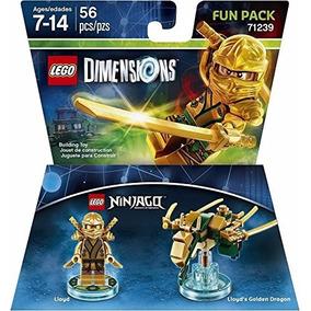 Lego Dimensions Ninjago Lloyd Dorado Envio Gratis