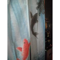 noren cortina japonesa tradicional peces koi carpas oriental