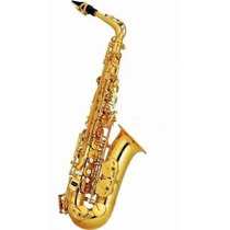 Saxo Alto Knight Jbas-200 Eb C/estuche Flash Musical Tigre!!