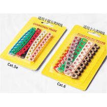 Numeros Marcador Cable De Red Cat5 Y Cat6 100 Pzas Paquete