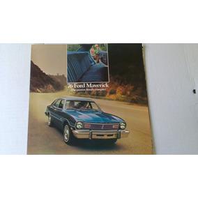 Catalogo De Venta De Ford Maverick 1976 Original Nuevo Raro