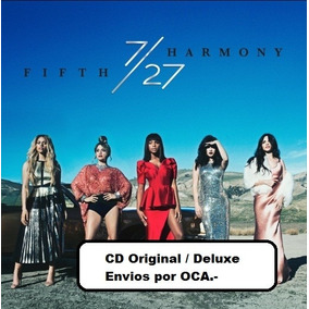 Cd Fifth Harmony - 7 / 27 ( Deluxe) - Original - Envios Oca.