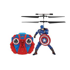 Marvel Vingadores Helicoptero Huk C. America E Homem Ferro