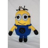 Minion De Mi Villano Favorito Tejido Amigurumi Crochet
