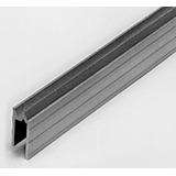 Perfil De Aluminio Para 9mm Macho Y Hembra Para Rack