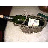 Posabotellas De Vino Porta Botellas Alambre Metalico Artist