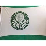 Bandeira Palmeiras 1.70 X 1.30 Mt Tecido Simbolo Silkado
