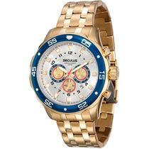 Relógio Seculus Masculino Cronograph 20313gpsvda1