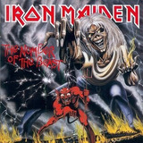 Iron Maiden The Number Of The Beast Vinilo Nuevo Y Sellado