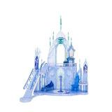 Disney Frozen Castillo De Hielo De Elsa Mattel Cmg65