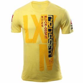 Playera Atletica Crossfit Hombre Reebok B86733