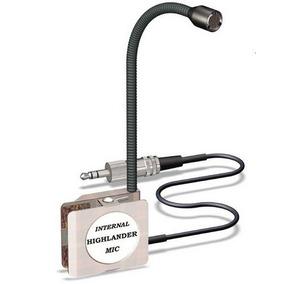 Microfone Interno Para Captação Violão Highlander Ip-2