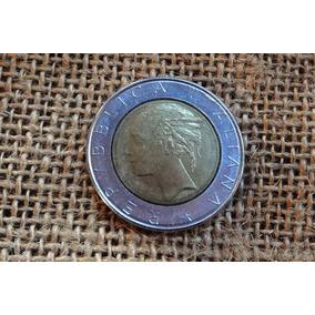 Moeda Republica Italiana L.500 -otimo Estado