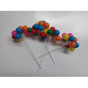 Globos De Plastico Para Decorar Pastel *20 Pzas