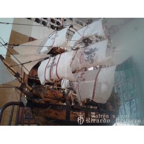 Modelismo Naval Barco Galeón Siglo 15 Escala 1/60