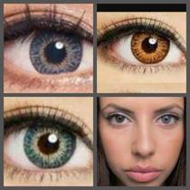 Pupilentes Naturales Natural Colors Blends Estuche Solucion