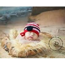 Gorros Tejidos Crochet Bebé Recien Nacidos Niñas Moda Regalo