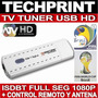 Tv Tuner Full Hd Sintonizador Digital Usb Futbol Mundial