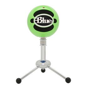 Micrófono Usb Verde Condensador Snowball Ng Blue Microphones