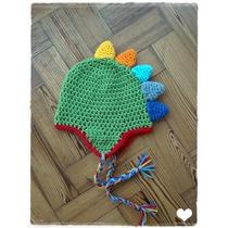Gorro Dinosaurio Crochet!!!!