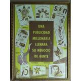 Antiguo Cartel Publicitario Decada Del 60 Radio Television.