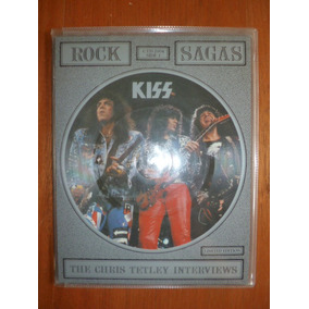 Picture Disc Set Kiss - Rock Saga Chris Tetley Interviews