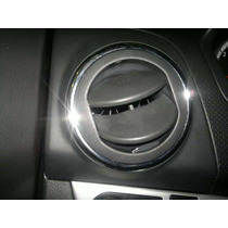 Moldura Cromada Rejilla Salida De Aire Chevrolet Aveo 09-17