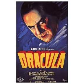 Drácula Película Clasica De Terror 1931 En Blu Ray + Ataud.