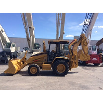 Retroexcavadora Caterpillar 420d Mod. 2005 4x4 Con Extension