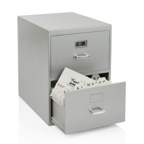 Gabinete De Archivos En Miniatura Para Tarjetas De Visita C