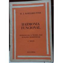 Livro: Harmonia Funcional - Sebo Refugio Cultural