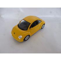 New Beetle Volkswagen Escala 1/24 Kinsmart Amarillo